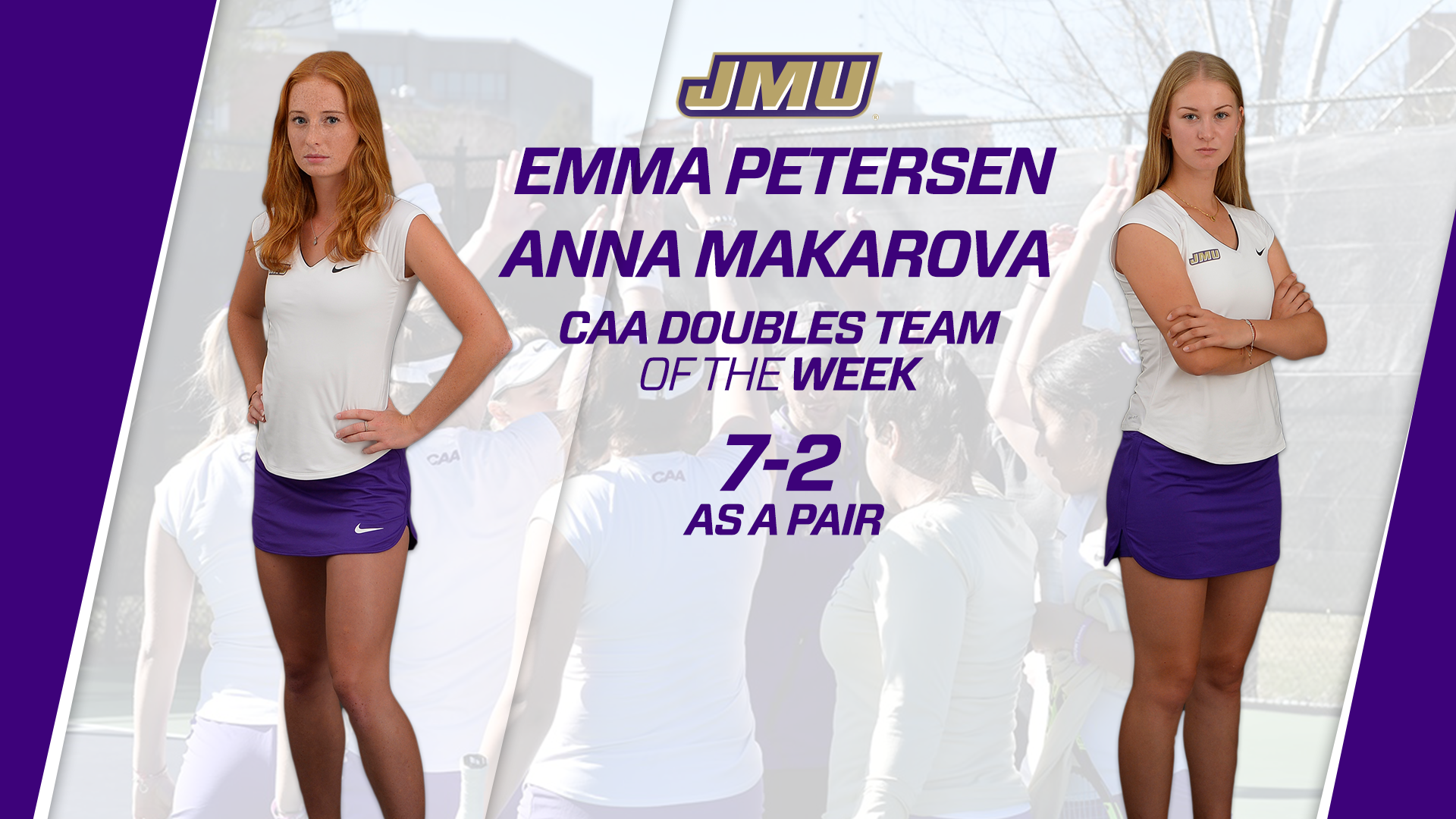 Women's Tennis: Makarova, Petersen Take Home Doubles Team of the Week Honor)