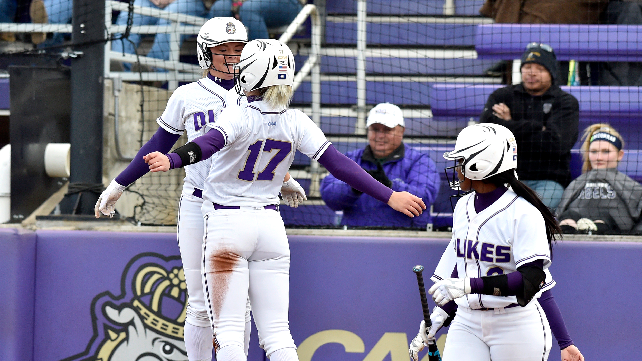 Softball: Dukes Dominate Morgan State in JMU Invitational Finale