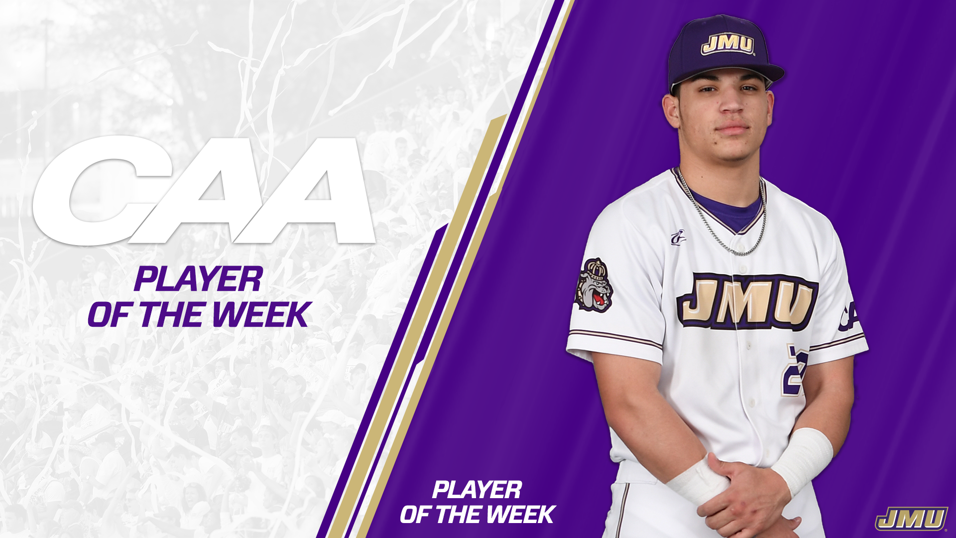 Baseball: Dabney Earns Second Player of the Week Honor