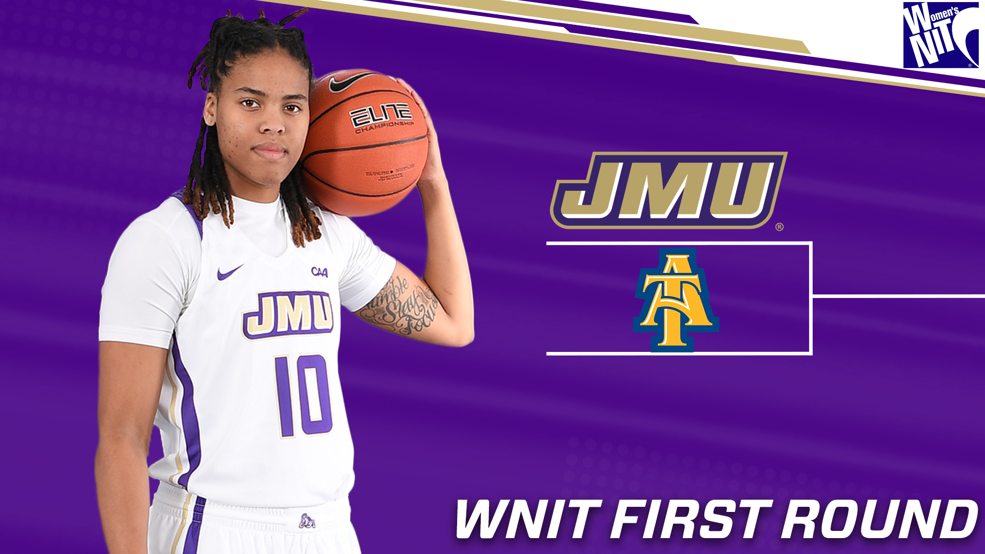 Women's Basketball: Dukes Host North Carolina A&T In WNIT First Round