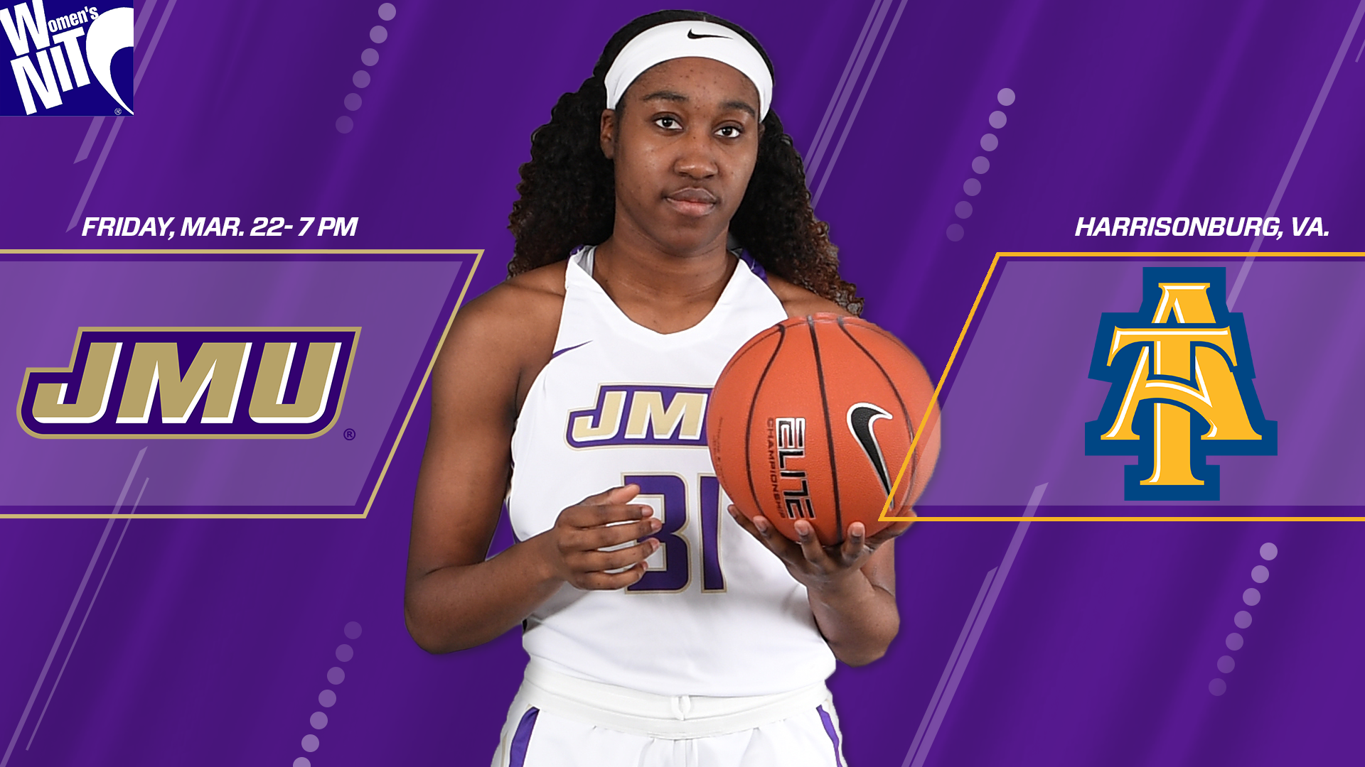 Women's Basketball: JMU Hosts Aggies In First Round of WNIT