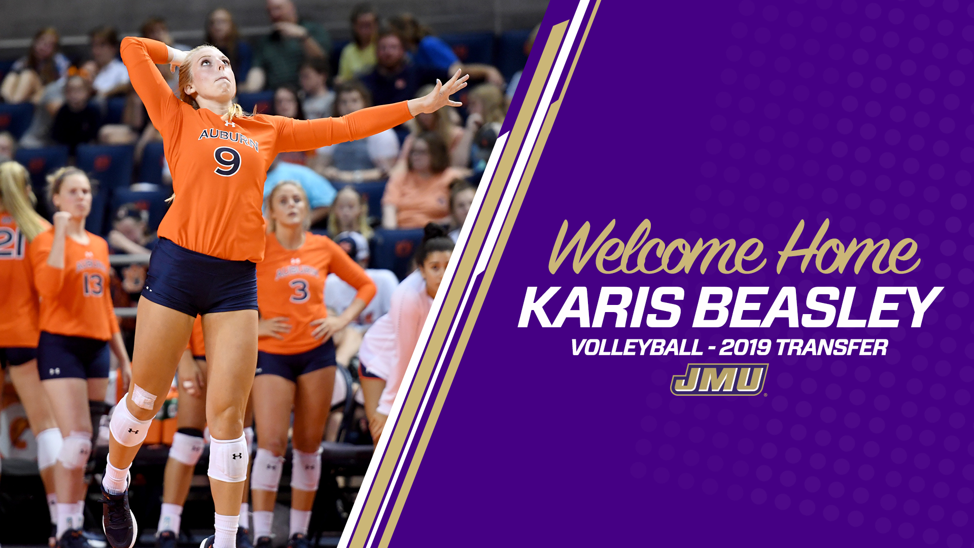 Volleyball: Beasley Joins Volleyball for 2019 Campaign