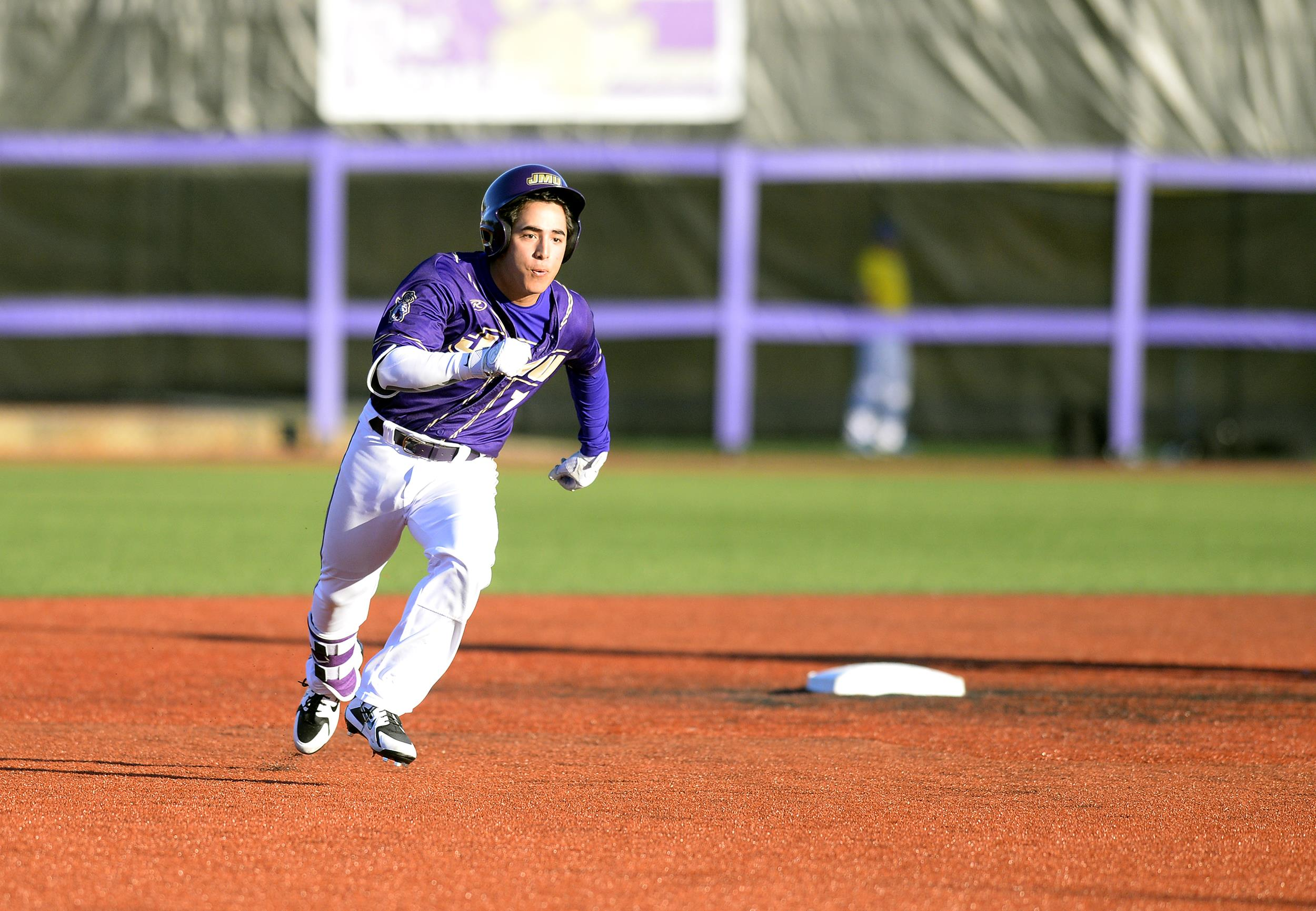 Baseball: Stewart Stays Hot, JMU Bats Come Alive in Win Saturday