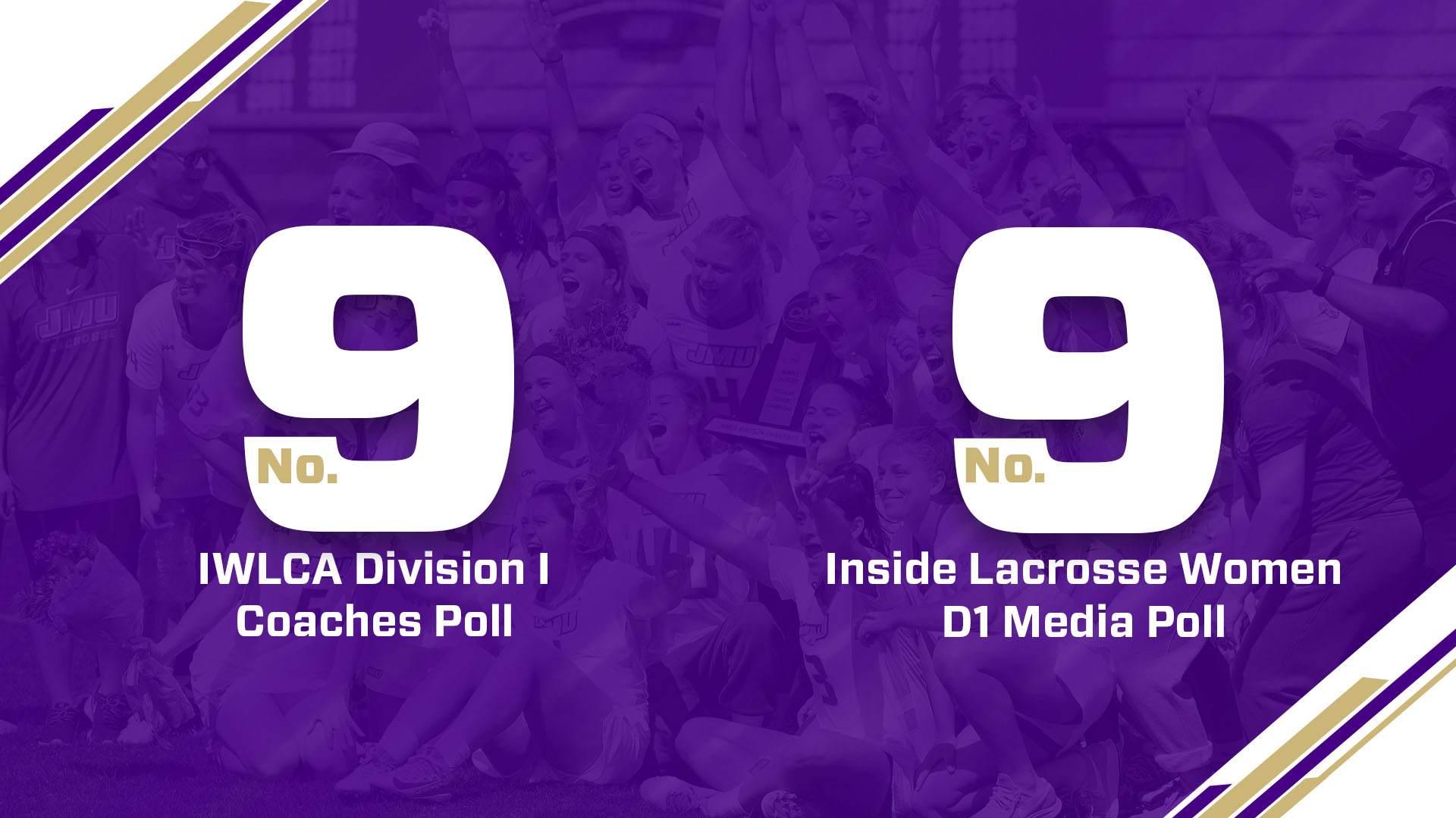 Lacrosse: Dukes Hold Strong at No. 9 in Both Major Lacrosse Polls