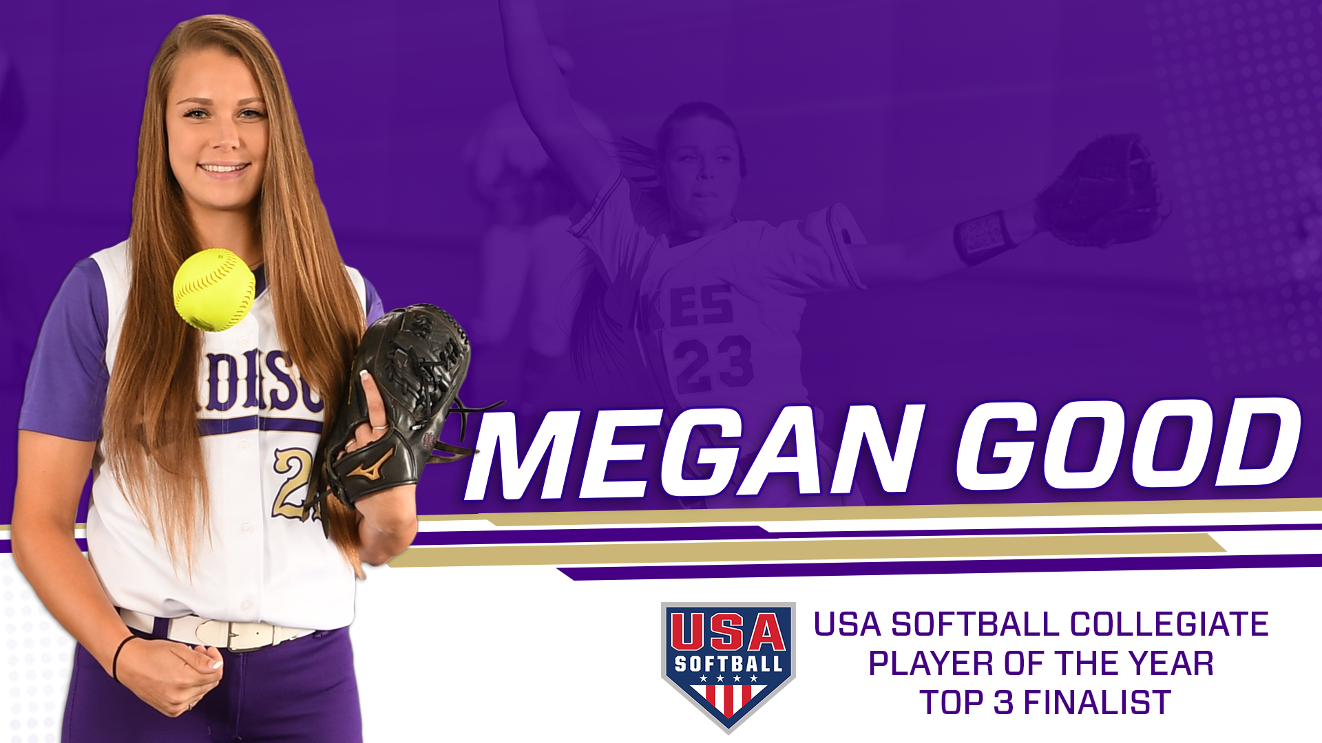 Softball: Good Named Top 3 Finalist for Player of the Year