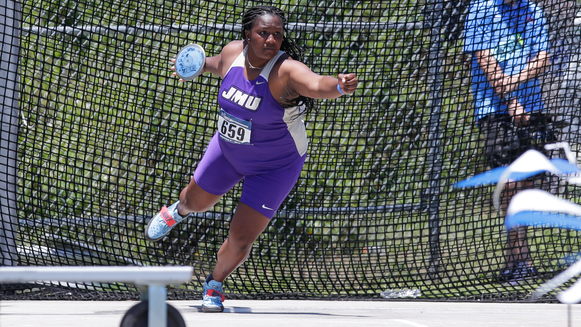 Track & Field: Johnson & Viparina Take On The NCAA East Prelims