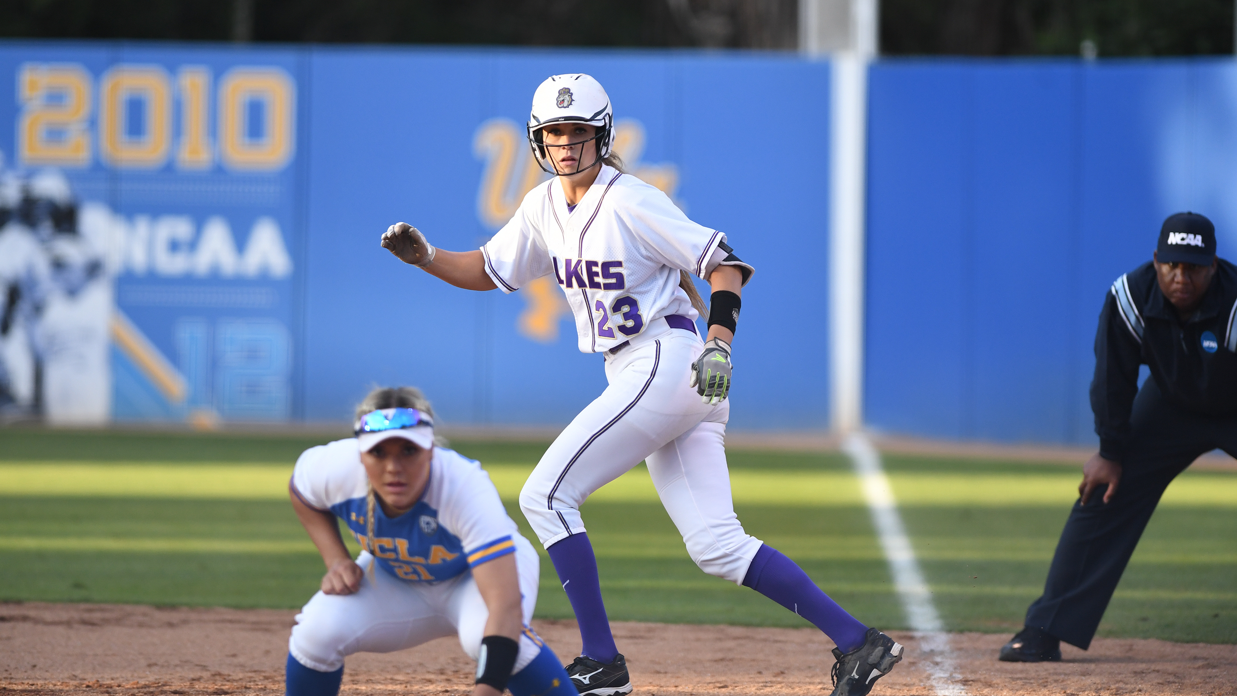 Softball: Dukes' Season Ends in L.A. Super Regional