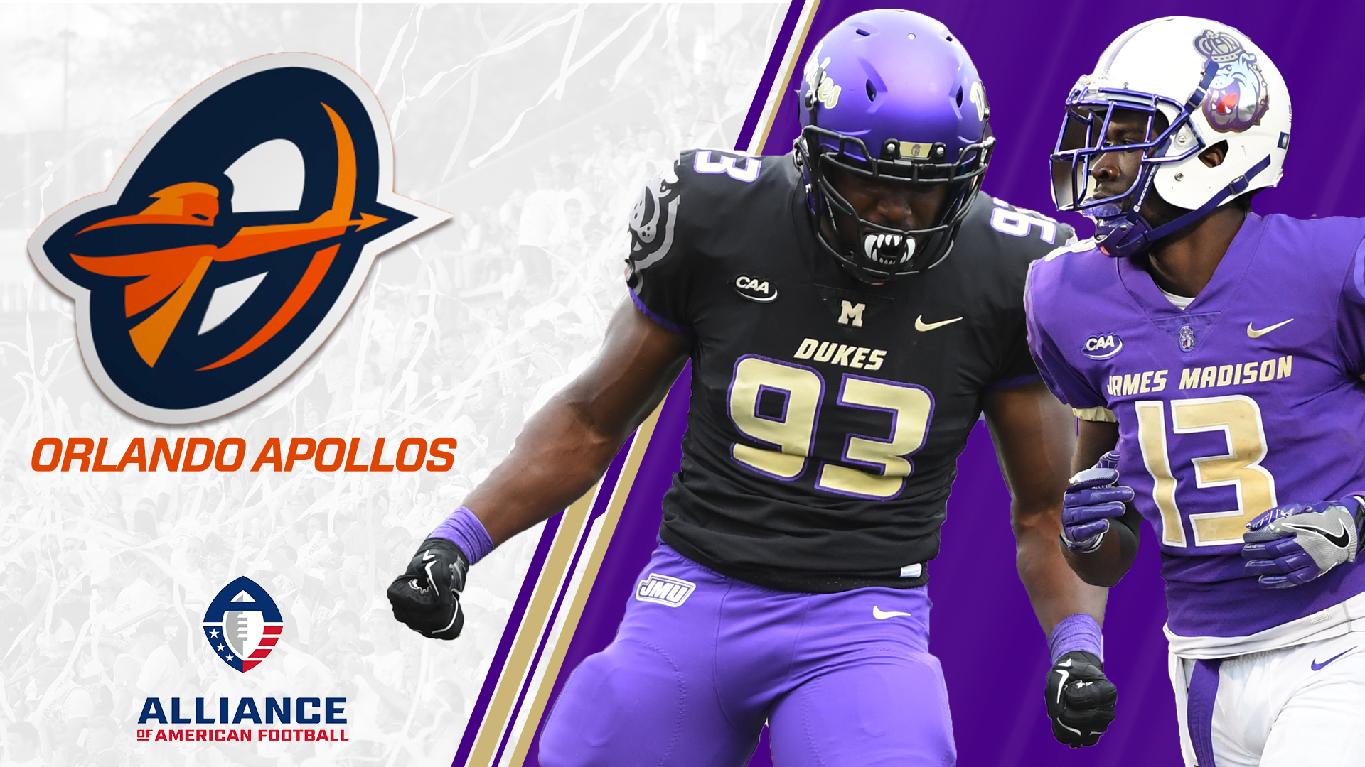 Former Dukes Ankrah and Hyman Sign Pro Contracts with AAF's ...