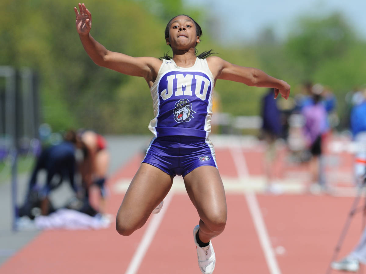 JMU TRACK AND FIELD?S MCDONALD WINS LONG JUMP, QUALIFIES FOR 100