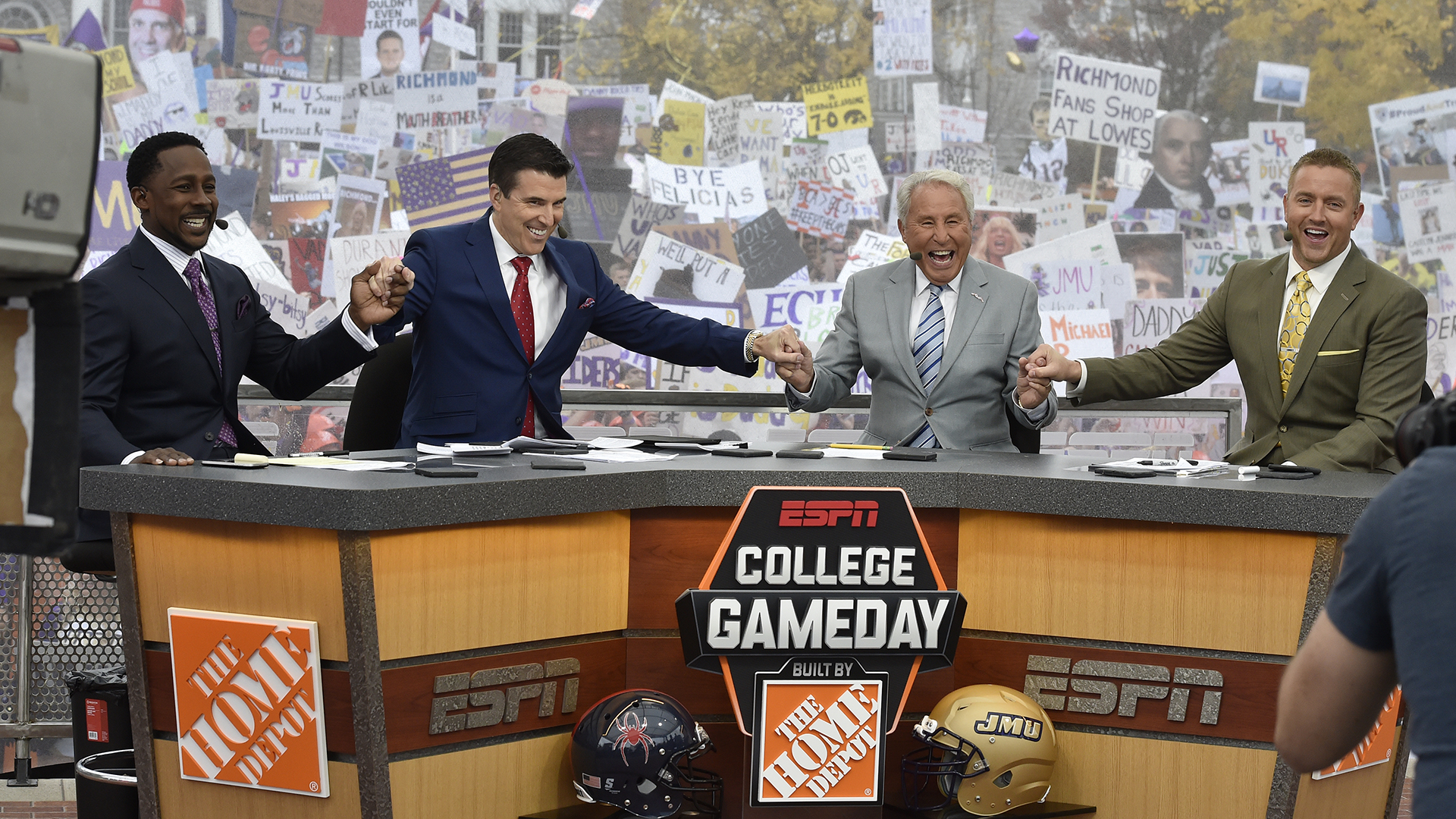 Espn S College Gameday To Return To Jmu S Quad Oct 14 James