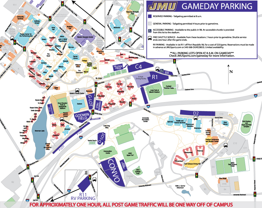 Jmu Parking Map Reparking Open House 2018   James Madison University Athletics