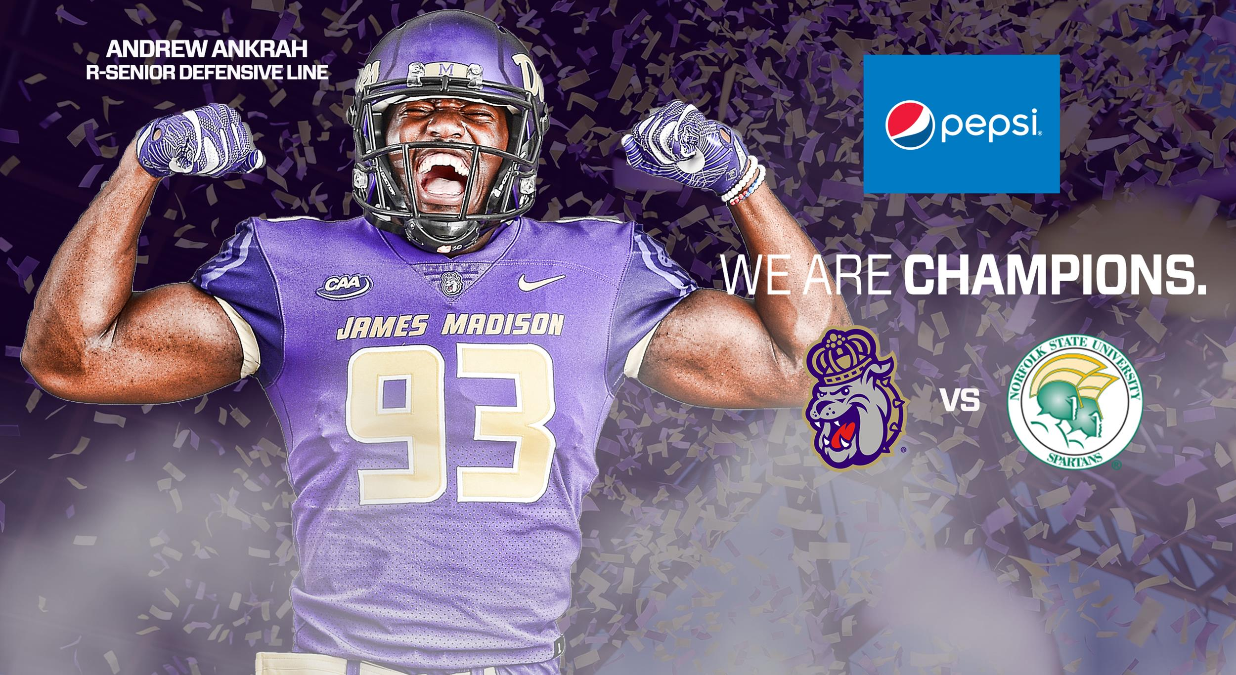 the best attitude 8d3ac 1d4f6 1 JMU Welcomes Norfolk State for In-State Battle on Saturday ...