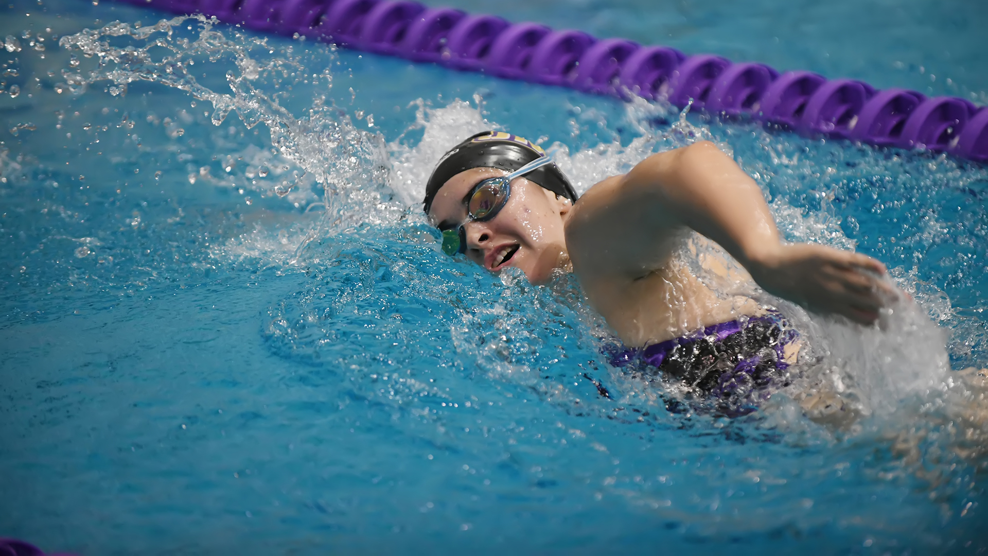 Women's Swimming and Diving: Dukes Edged by Liberty