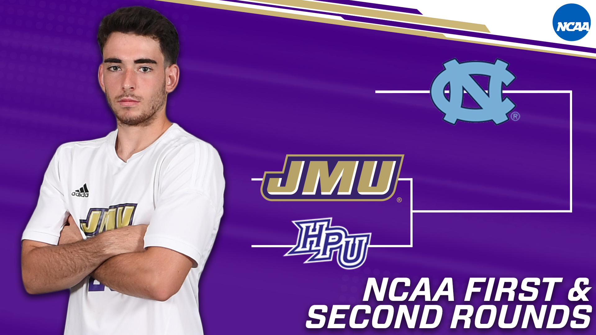 Men's Soccer: Dukes to Face High Point in First Round of NCAA Tournament