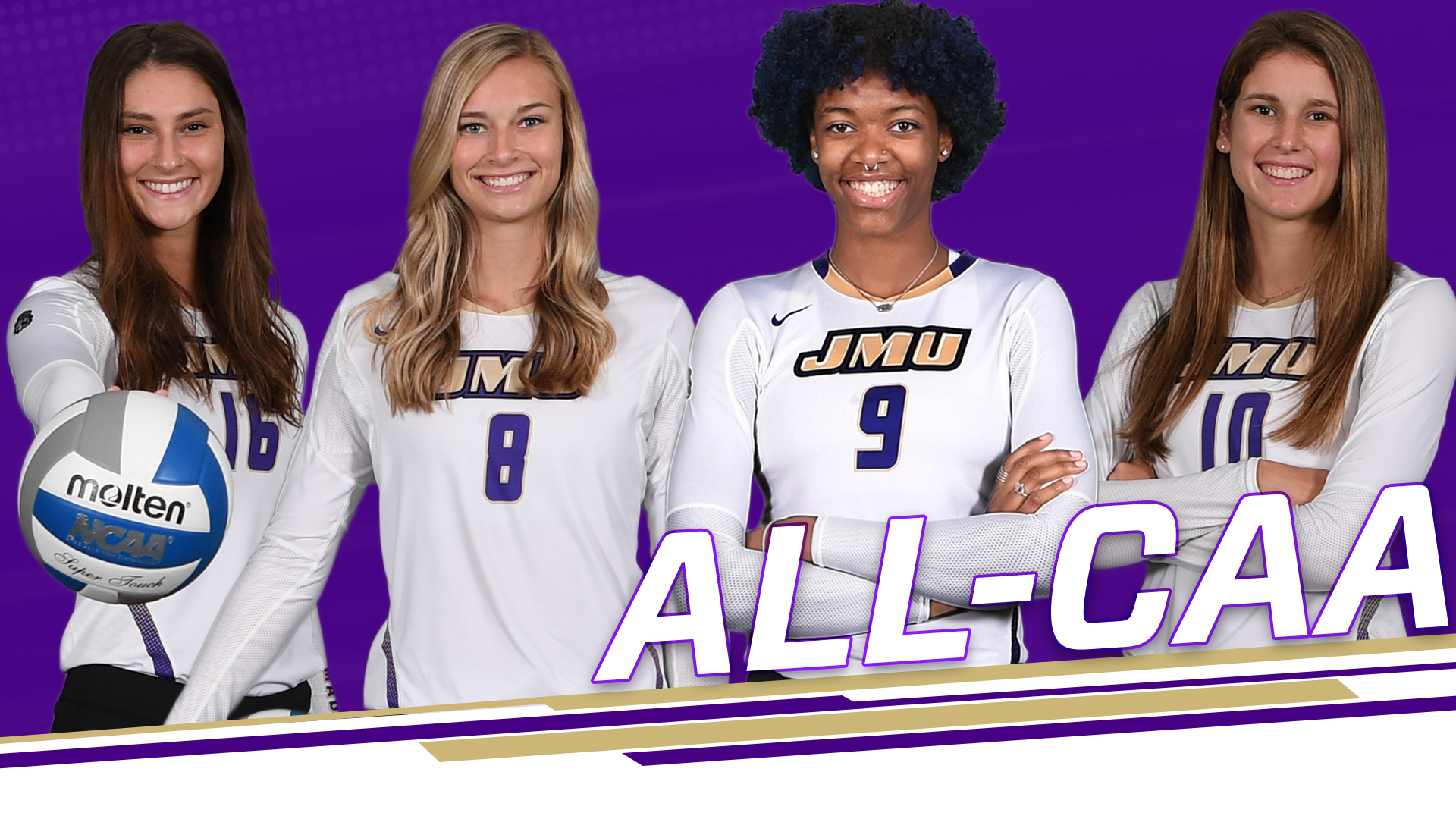 Volleyball: Four Dukes Collect CAA Honors