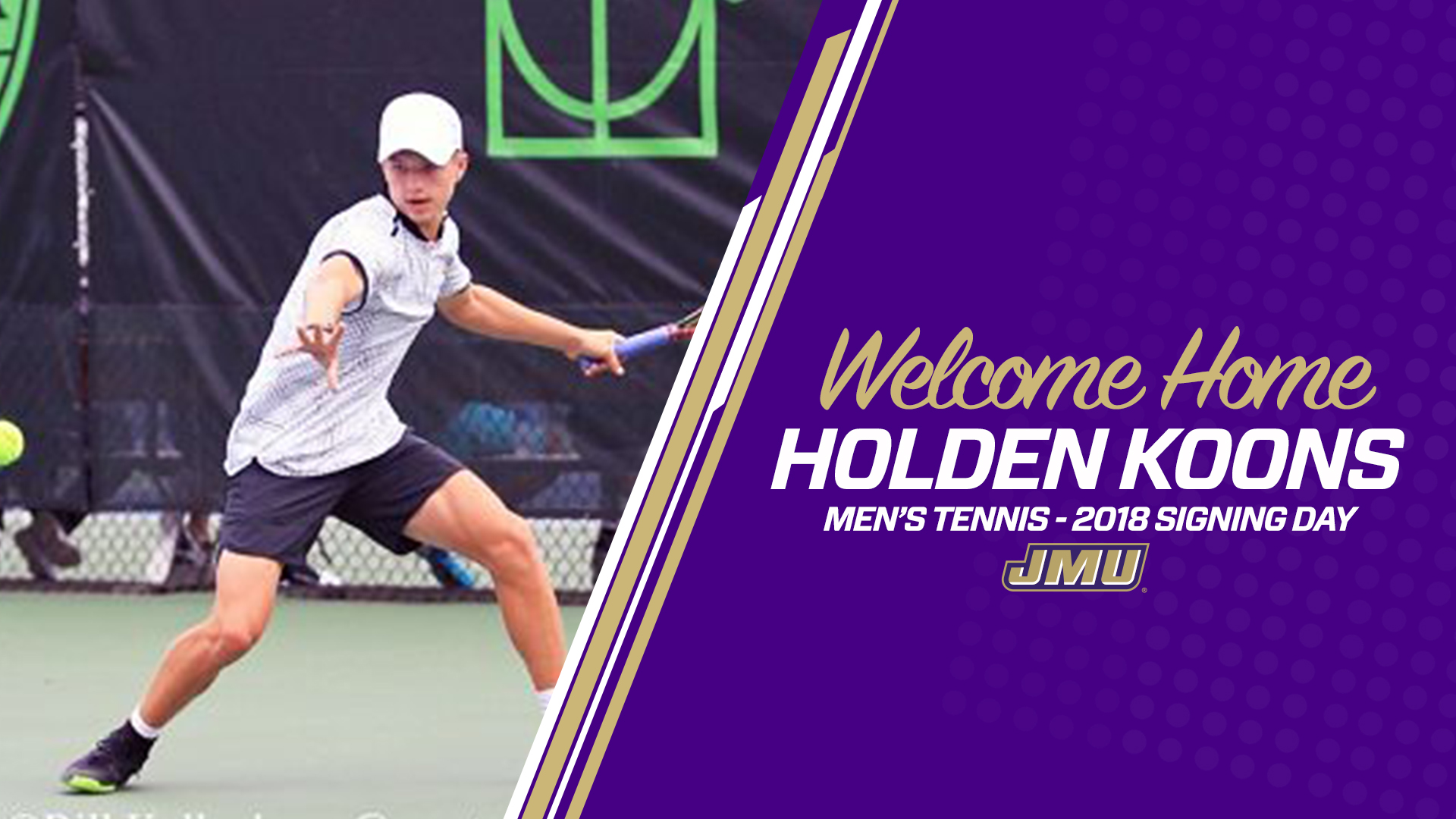 Men's Tennis: Secord Adds Holden Koons With National Letter of Intent