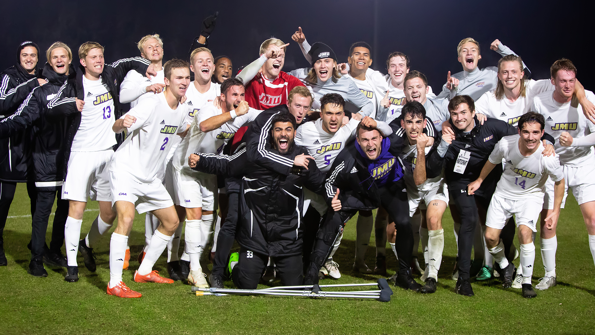 Men's Soccer: Dukes Knock Off No. 5 UNC in NCAA Second Round