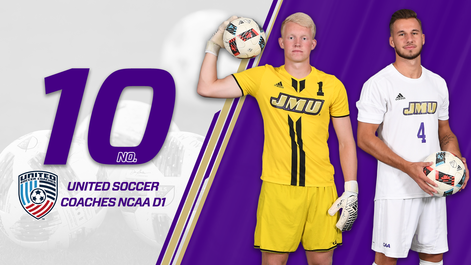 Men's Soccer: Dukes Finish 2018 Campaign at No. 10