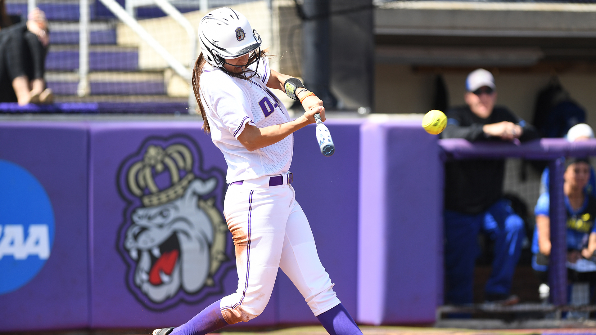 Softball: Potent Offense Leads Dukes to Series Sweep Over Elon