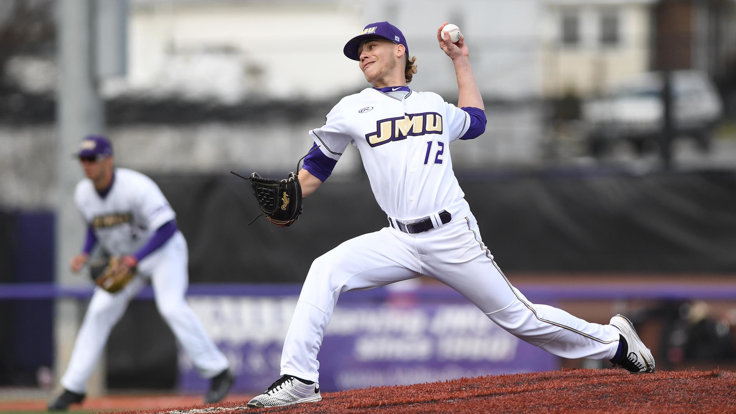 Baseball: Harlow, Dukes Cruise Past Towson, 12-3