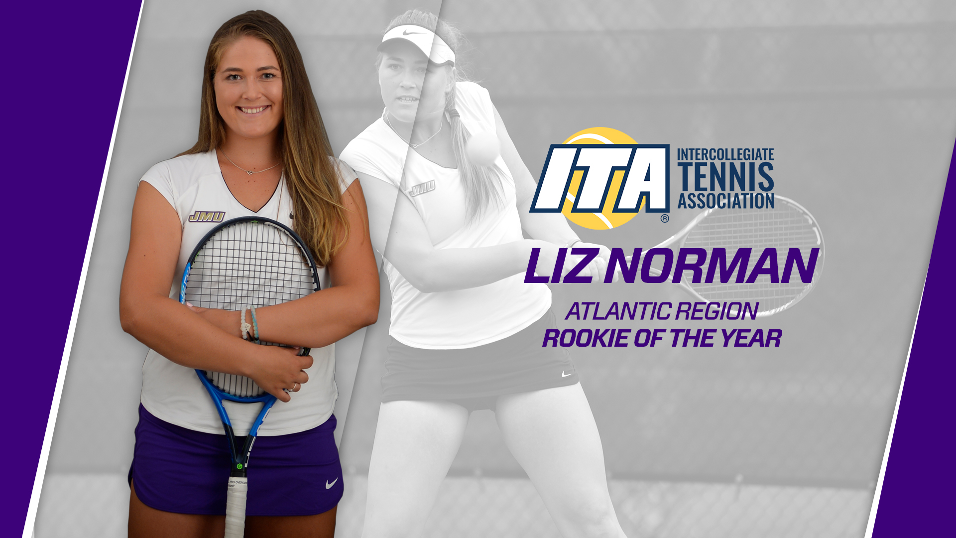 Women's Tennis: Norman Named ITA Atlantic Region Rookie of the Year