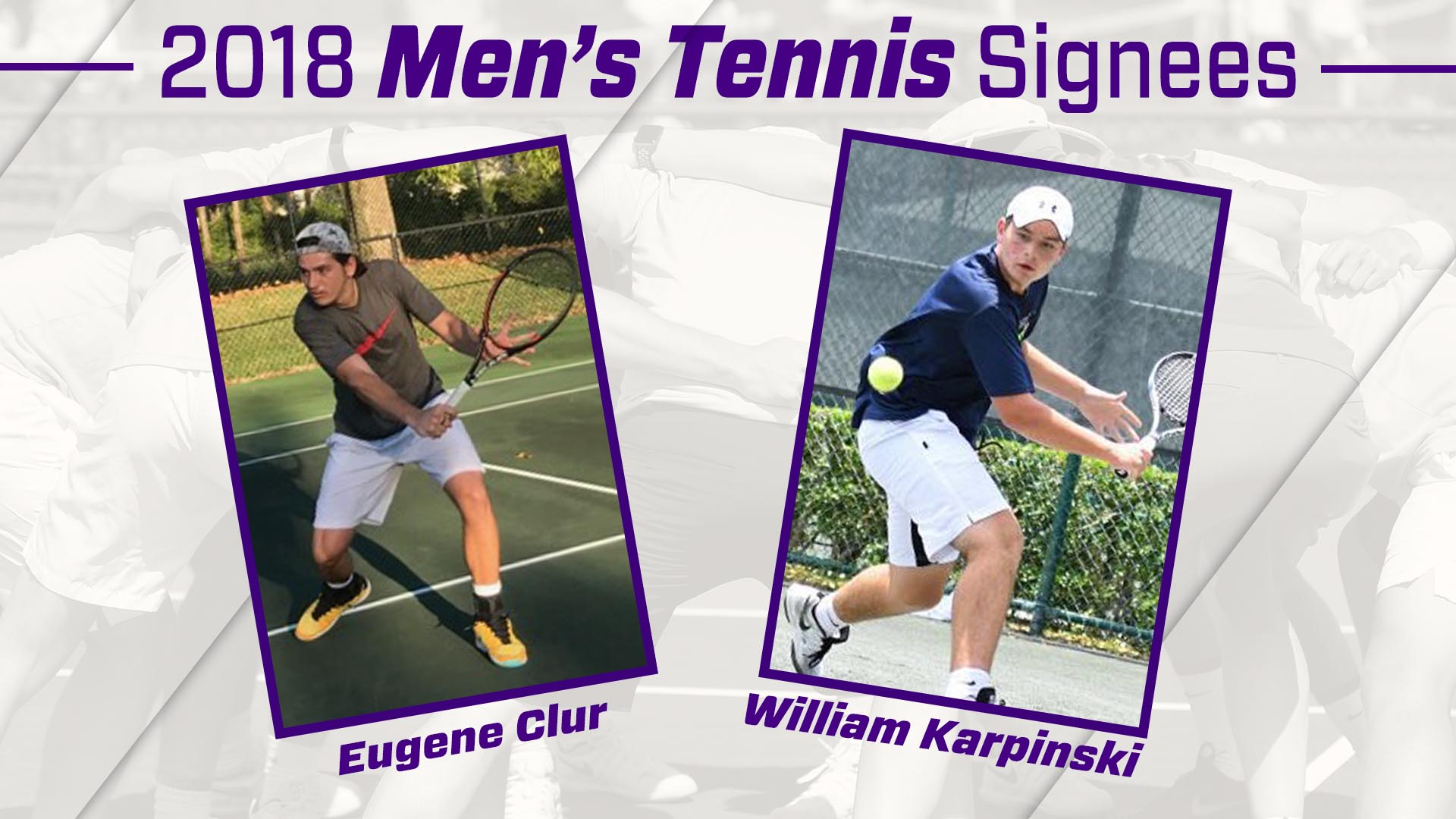 Men's Tennis: Secord Announces Addition of Two for 2018-19 Men's Tennis Season