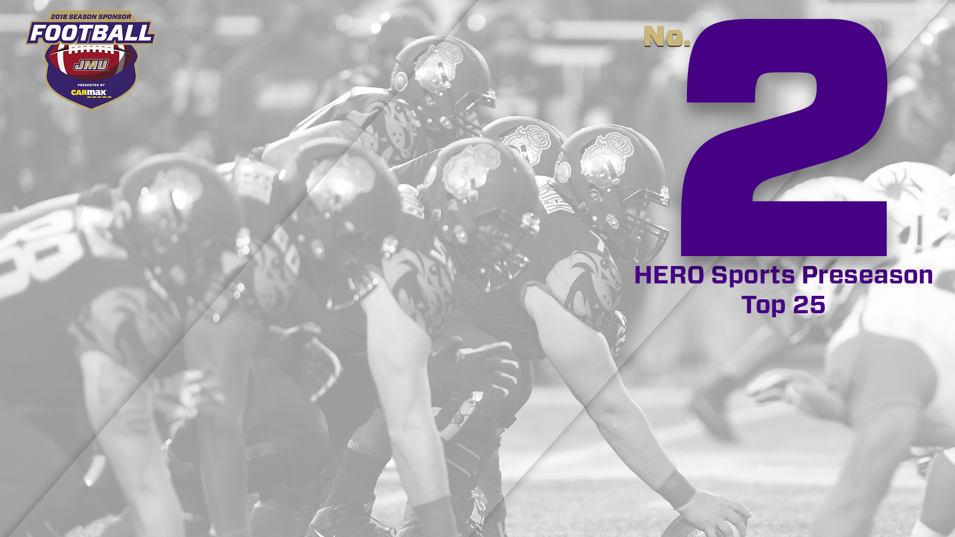 Football: Dukes Rank Second in HERO Sports Poll, Five Earn Preseason All-America Status
