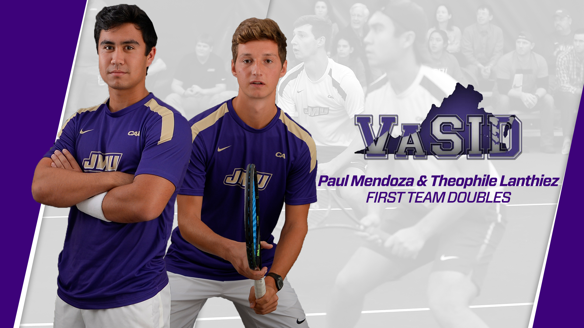 Men's Tennis: Lanthiez and Mendoza Earn All-State Honors