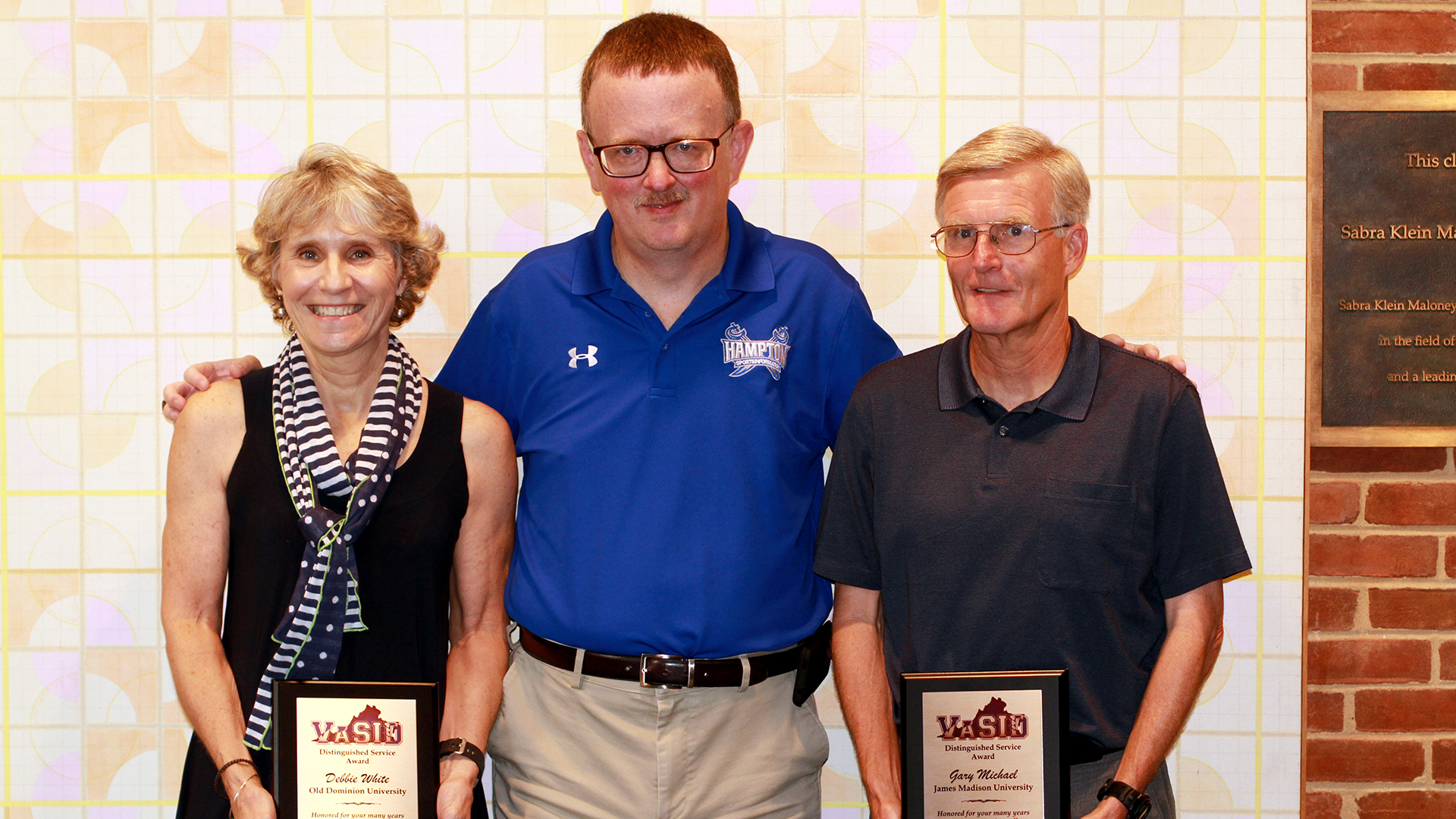 Administration: Former SID, Gary Michael, Receives VaSID Career Recognition