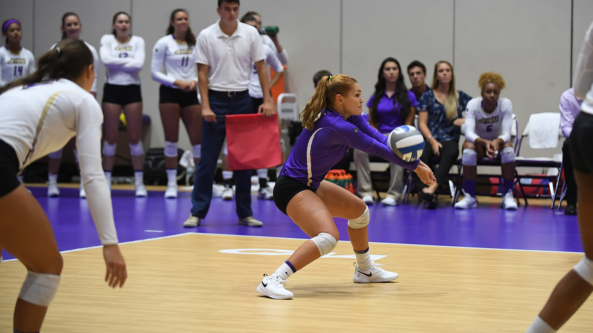 Women's Volleyball: Dukes Suffer Five-Set Heartbreaker to VCU