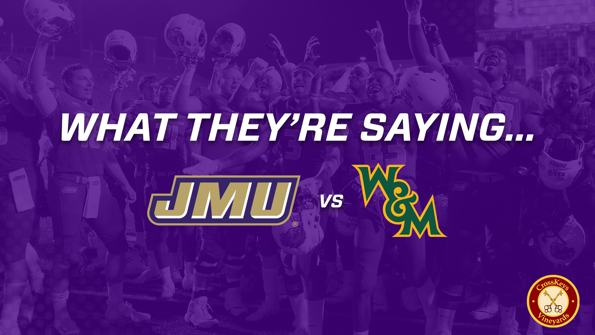 Football: What They're Saying: JMU vs William & Mary