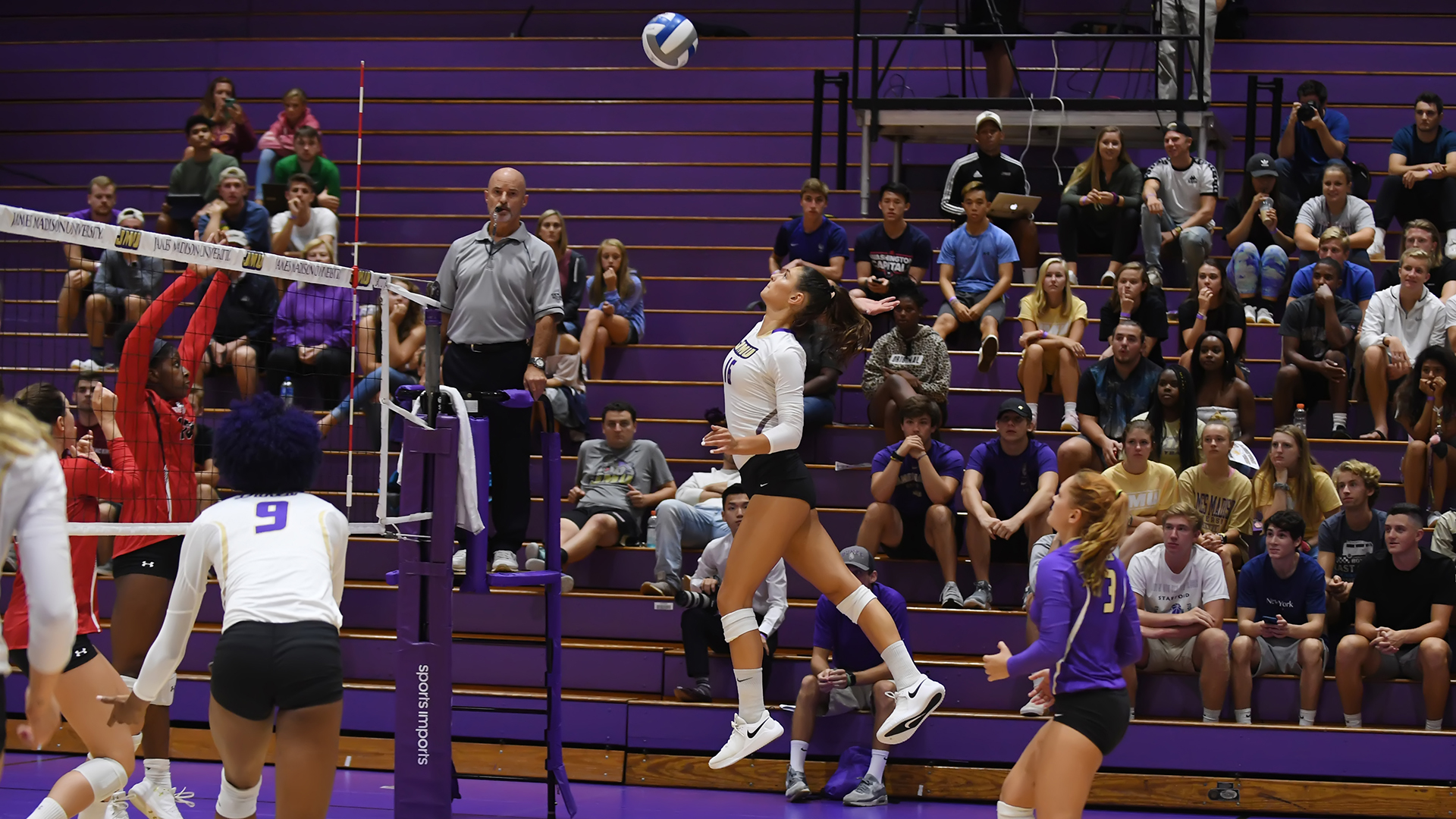 Women's Volleyball: Four-Set Fight Seals Dukes' Conference-Opening Win