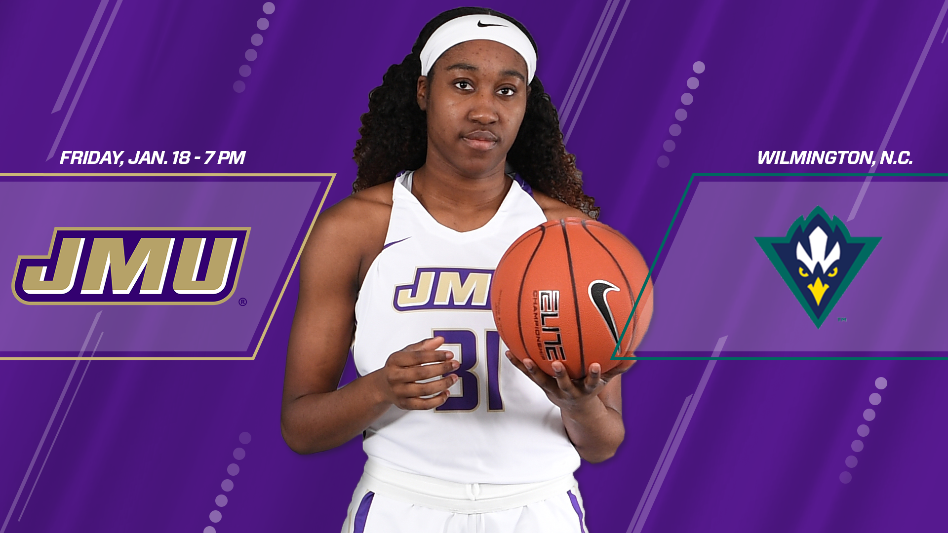Women's Basketball: Dukes Head South to UNCW