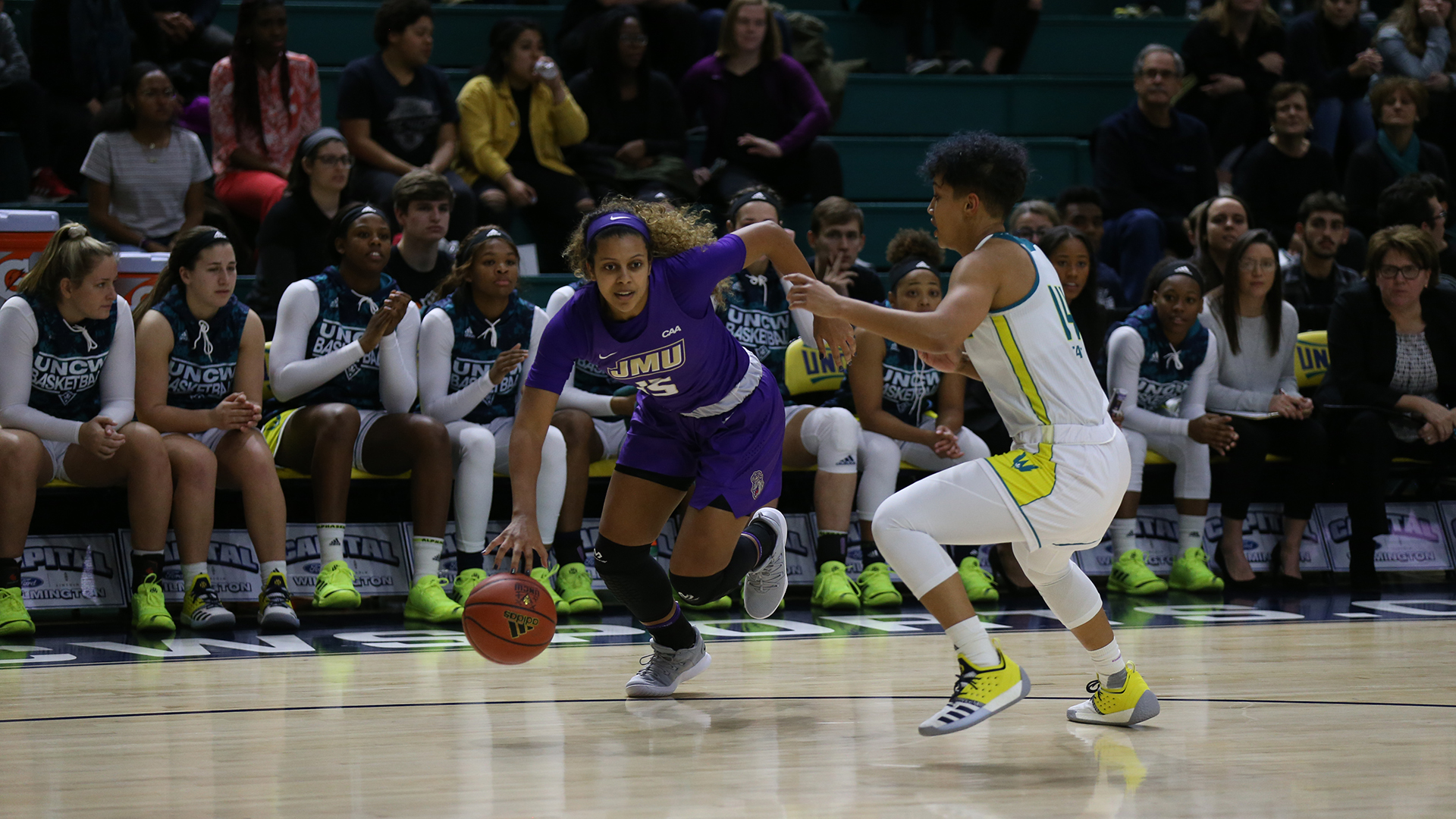 Women's Basketball: Dukes Drop Road Contest At UNCW