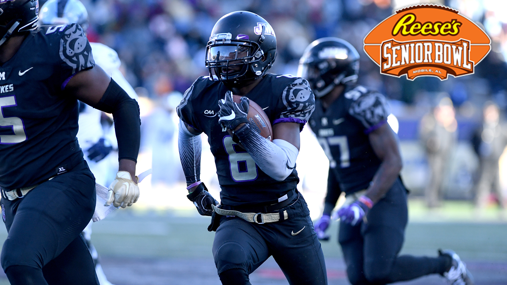 Football: Jimmy Moreland Becomes First JMU Player Selected to Reese's Senior Bowl