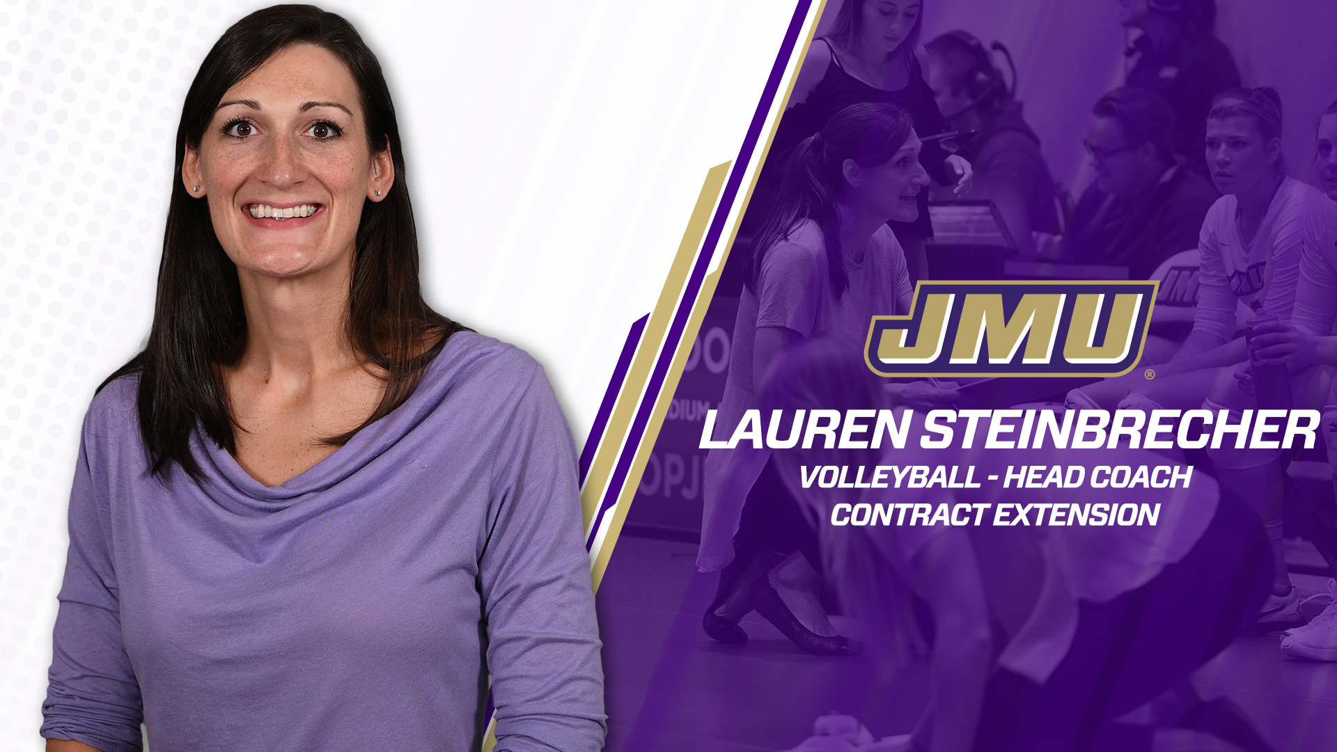 Volleyball: Steinbrecher Inks Five-Year Contract