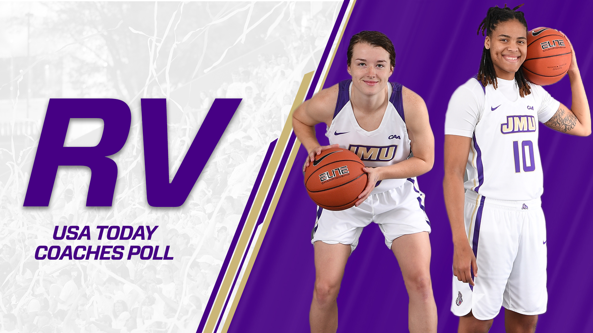 Women's Basketball: Dukes Received Vote In USA Today Coaches Poll