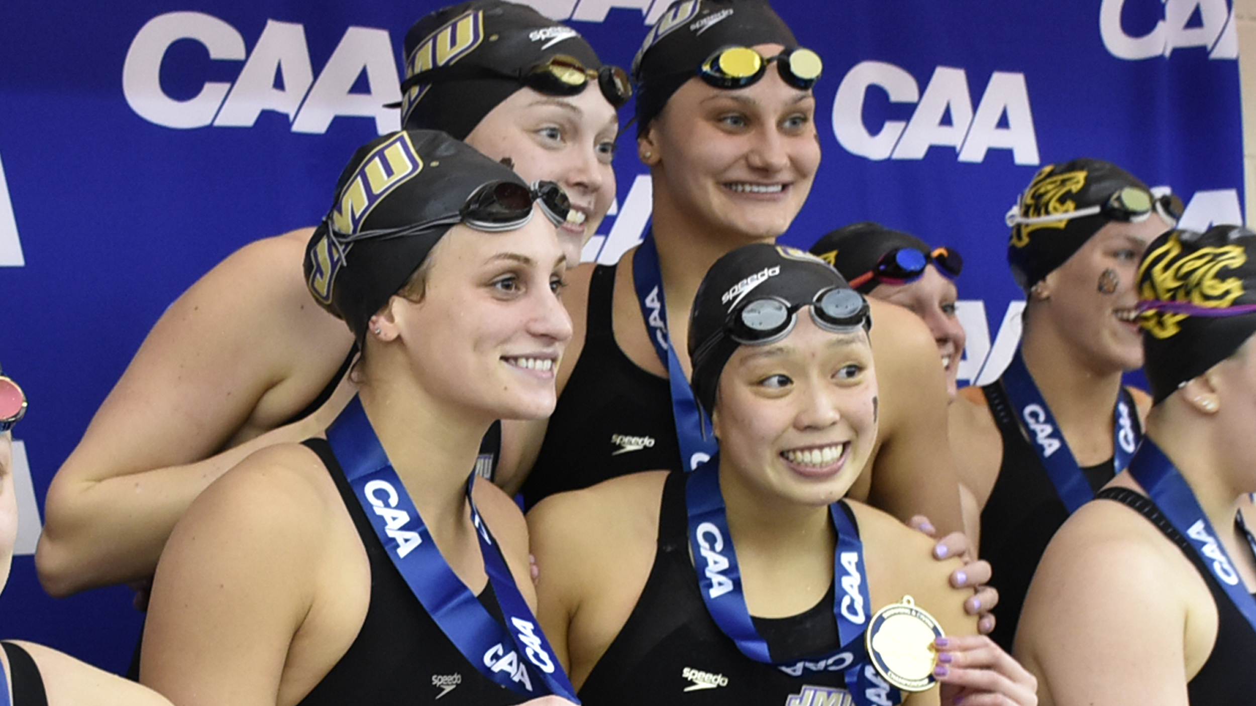 Swimming & Diving: Dukes Atop Standings After Day 1 of 2019 CAA Championships