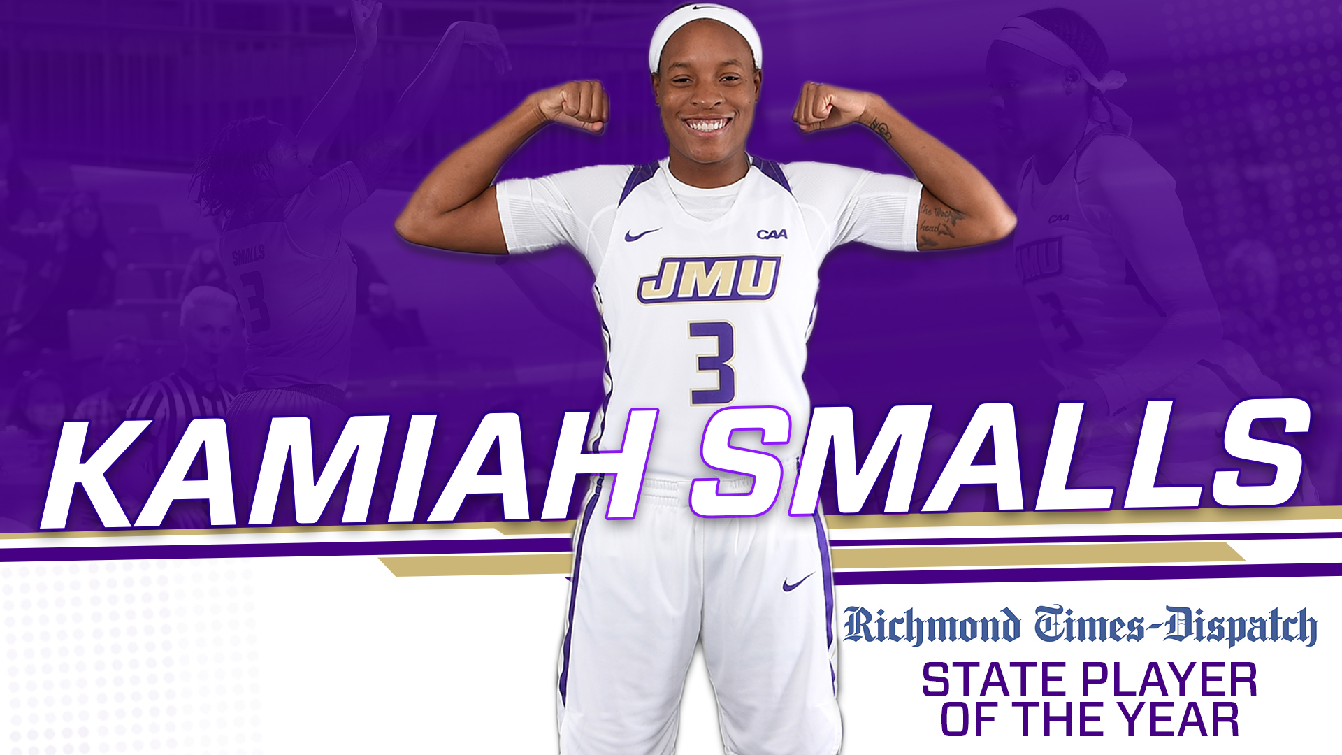 Smalls Earns Richmond Times-Dispatch State Player Of the