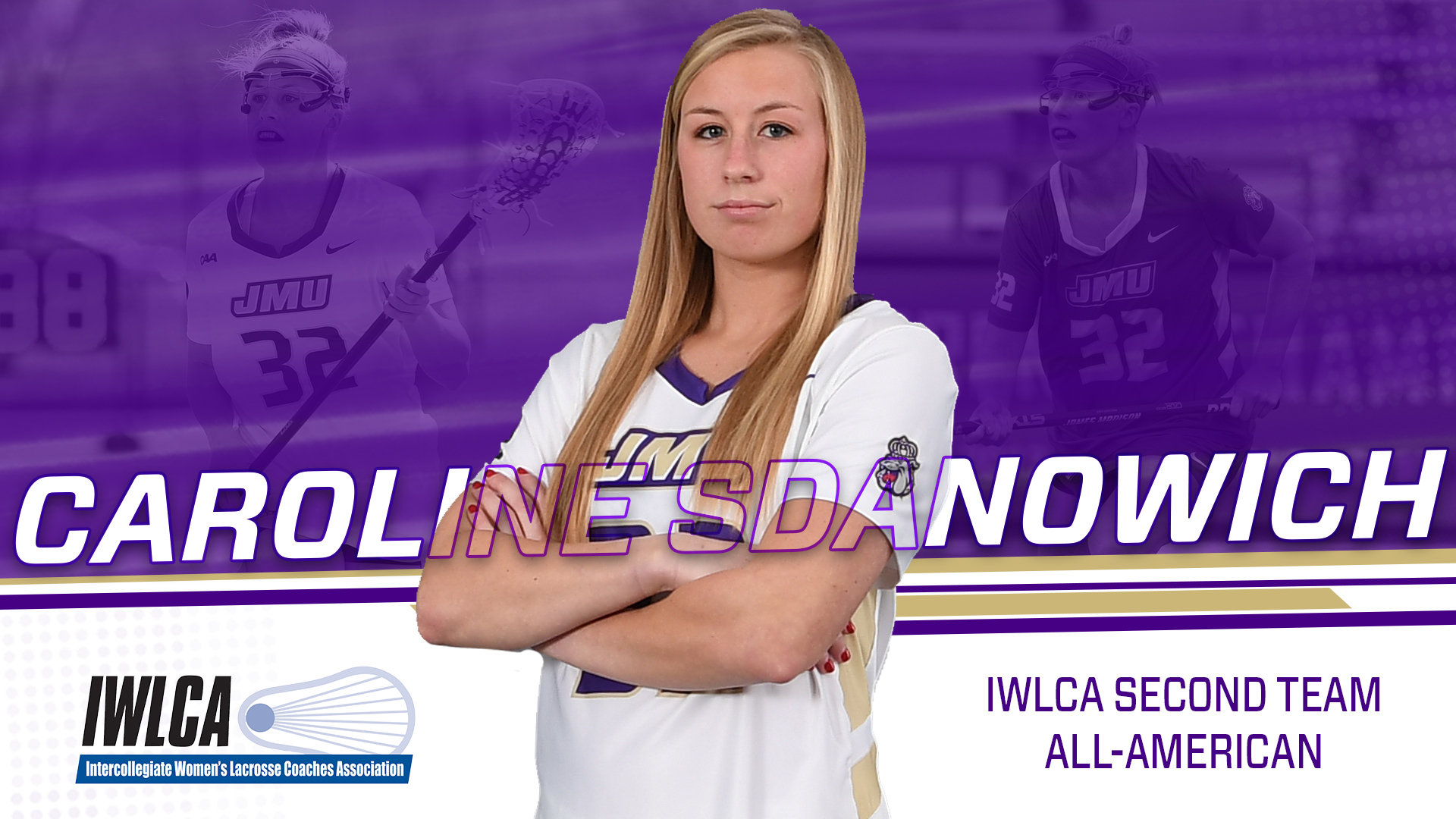 Lacrosse: Sdanowich Named IWLCA Second Team All-American