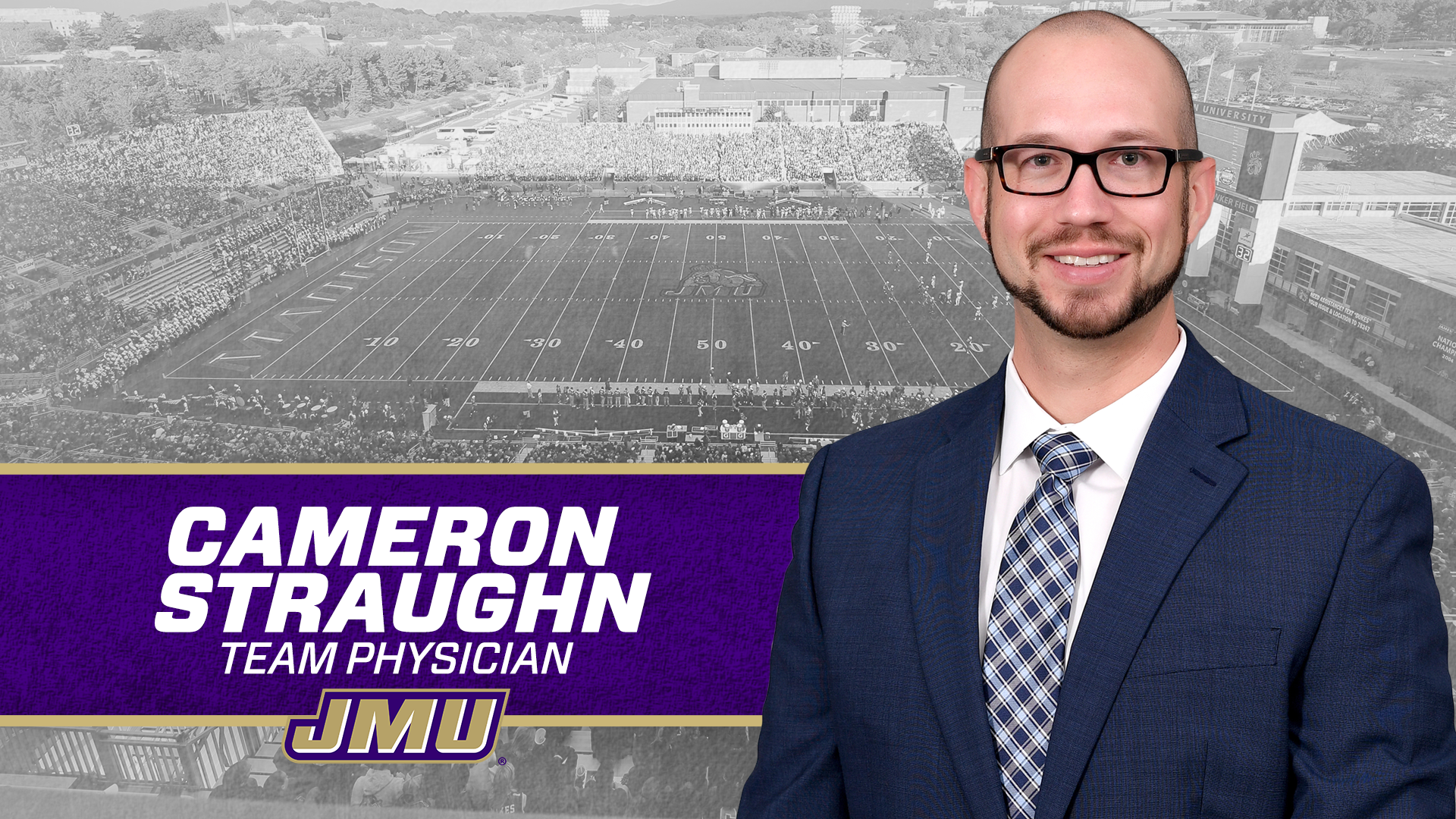 Cameron Straughn Named as Team Physician - James Madison